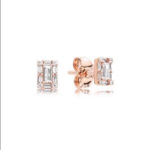 Jewelry - LUMINOUS ICE STUD EARRINGS, PANDORA ROSE™ 287567CZ